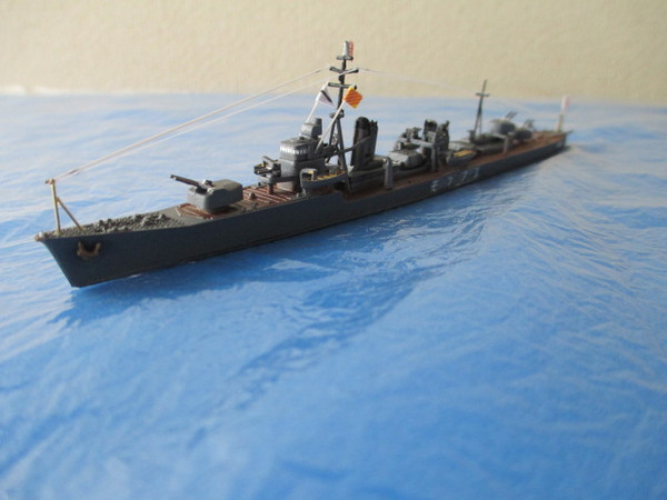 駆逐艦 夕雲 ソロモンに沈む: プラモデル海軍奮戦中